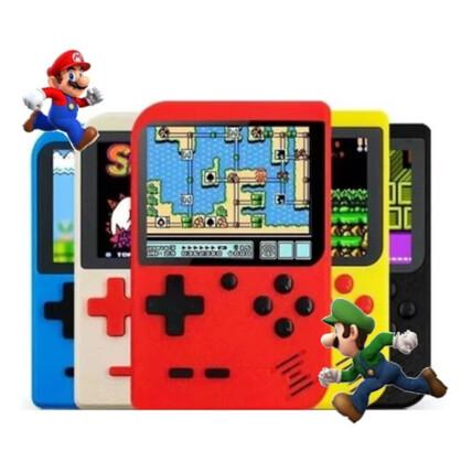 Vídeo Game Portátil Mini Retrô 400 Em 1 SUP Game Box - LE-383