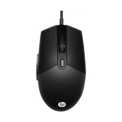Mouse Gamer Usb com Led RGB 6400 dpi HP - M260 Preto