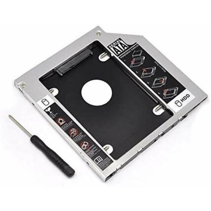 Adaptador Caddy Case para HD e SSD Sata 2.5 polegadas 12.7mm - KP-HD009
