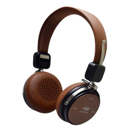 Fone Headset Bluetooth C3Tech 4.2 Marrom - PH-B600BW