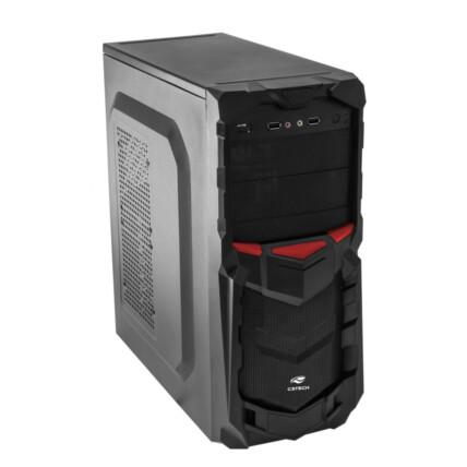 Gabinete Gamer C3Tech Micro ATX / ATX s/ fonte - MT-G50BK