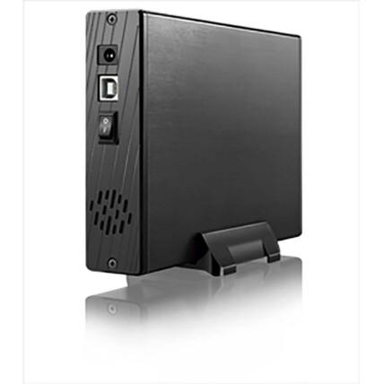Case para HD Externo Multilaser 3,5' Usb 2.0 com Ventilador - GA119