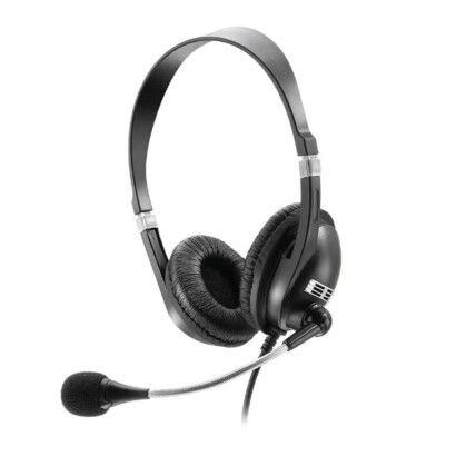 Fone de Ouvido com Microfone Multilaser Premium Acoustic Preto Ps2 - PH041