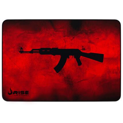 Mousepad Gamer Rise Mode AK47 Vermelho Grande 42X29X0,3cm - RG-MP05-AKR