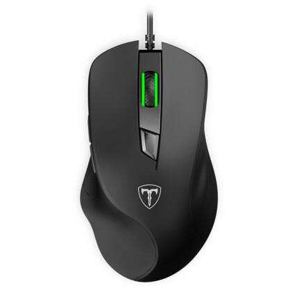 Mouse Gamer T-Dagger Detective 6 Botões 3200DPI Preto - T-TGM109