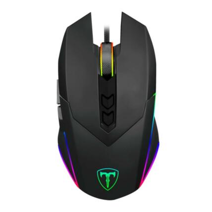 Mouse Gamer T-Dagger Lieutenant 7 Botões RGB 8000DPI - T-TGM301
