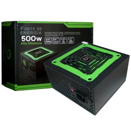 Fonte ATX 500W OnePower Gamer Bivolt - MP500W3-I