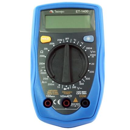 Multímetro Digital Portátil - Minipa - ET-1400