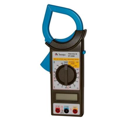 Alicate Amperímetro Digital Minipa CAT II 1000V - ET-3200