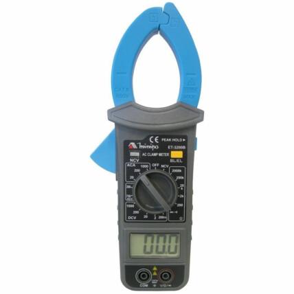 Alicate Amperímetro Digital Minipa com Iluminação da Garra - ET-3200B
