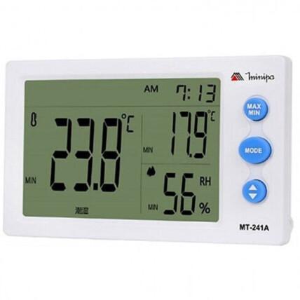 Relógio Termo-Higrômetro Digital Minipa - MT-241A
