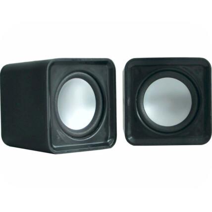Mini Caixa de Som K-Mex para PC 4W Usb Preta - SP-8900