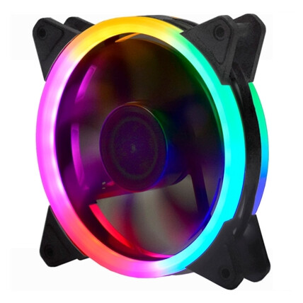 Cooler Fan Gamer K-Mex 120mm 30 Leds, 5 Cores - AF-B1225
