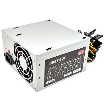 Fonte ATX Brazil PC 350W Real s/ Cabo - BPC-325V1.2