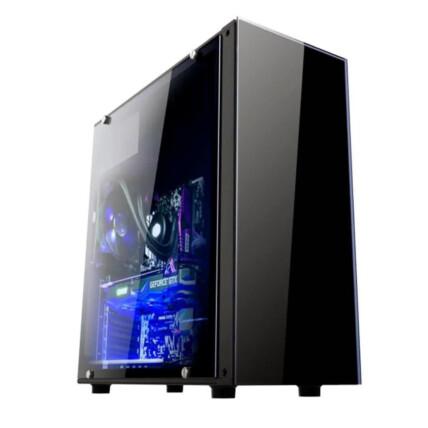 Gabinete Gamer Brazil Pc Black Sem Fonte Com Lateral Acrílico - BPC-330ATX