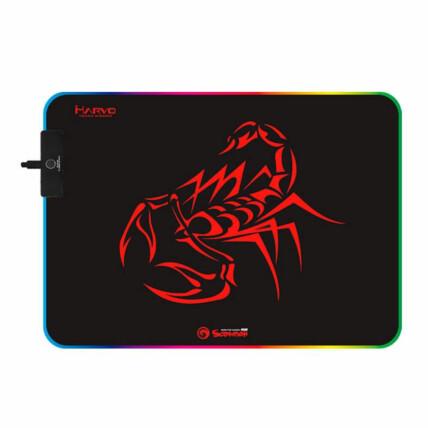 Mousepad Gamer Marvo Scorpion 350X250mm Led RGB - MG08