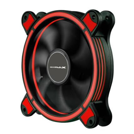 Cooler Fan Ring Mymax Spectrum 120mm 22 LEDs Vermelho - MYC/FC-SP12025/RD
