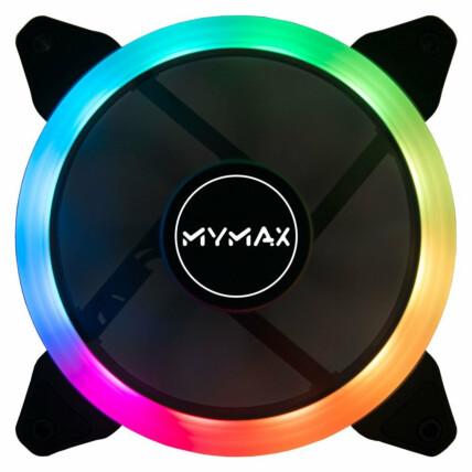 Cooler Fan Mymax Aura 120mm LED RGB - MYC/SR12025-5CF