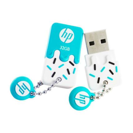 Pen Drive HP 32GB Mini USB 2.0 Azul - V178B