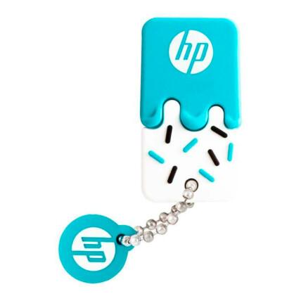 Pen Drive HP 64gb Mini USB 2.0 Azul - V178B