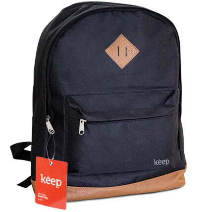Mochila Para Notebook 15,6 Pol. Keep Everyday Multilaser Preto e Marrom - BO435