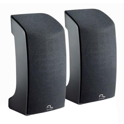 Caixa De Som Multilaser 2.0 1W USB Preta - SP093