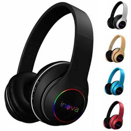 Headphone Bluetooth Sem Fio Stereo Dobrável Inova - FON-2245D
