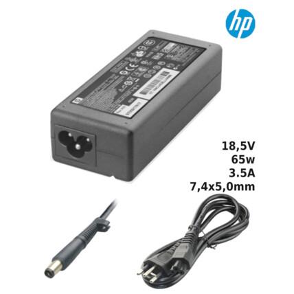 Fonte para Notebook Compatível com HP 18,5V 3.5A 65W 7,4x5,0mm SUMEXR - H-6
