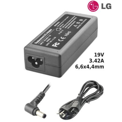 Fonte para Notebook Compatível com LG 19V 3.42A 6,6x4,4mm SUMEXR - LG-22