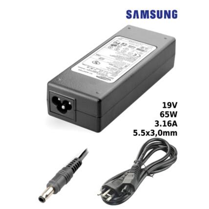 Fonte para Notebook Compatível com SAMSUNG 19V 3.16A 65W 5,5x3,0mm SUMEXR - SA-1
