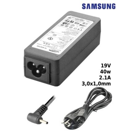 Fonte para Notebook Compatível com SAMSUNG 19V 2.1A 40W 3,0x1,0mm SUMEXR - SA-3