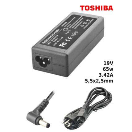 Fonte para Notebook Compatível com TOSHIBA 19V 3.42A 65W 5,5x2,5mm SUMEXR - TO-21