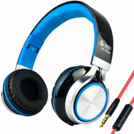 Headphone com Microfone para Computador e Smartphone Infokit - HM-750MV