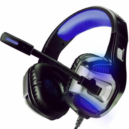 Headset Gamer 7.1 Surround para Ps4 Pc e Smartphone Azul Exbom - Gh-x1800
