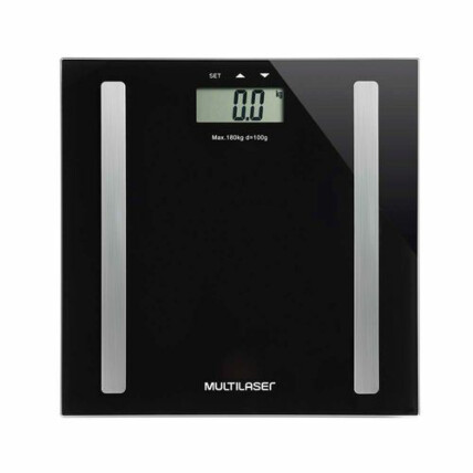 Balança Digital Multilaser Digi Health 180Kg Preta - HC022