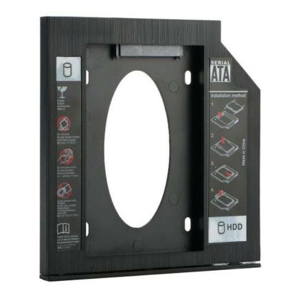Case para Hd/Ssd Caddy Adaptador Sata 9,5 mm Knup - KP-HD021