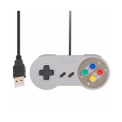 Controle Joystick Usb Super Snes Knup - KP-3124
