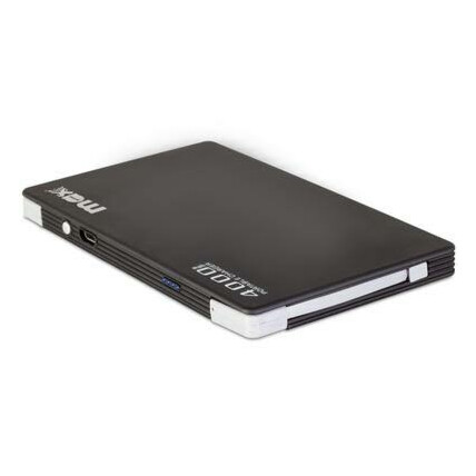 Power Bank Maxprint Pocket 4000mah com Cabo V8 e Lightning embutidos - 6012876