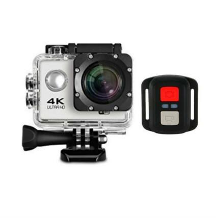 Câmera Sport A Prova D'água HD 16 MP com Controle Remoto - 4K