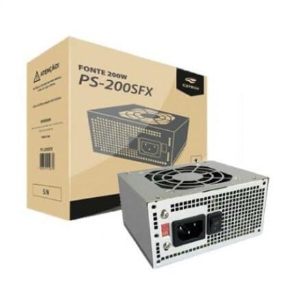 Fonte C3Tech SFX 200W sem cabo - PS-200SFX