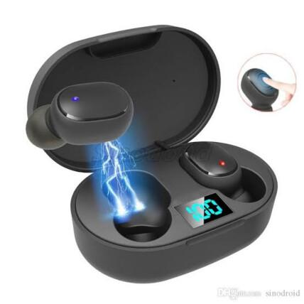 Fone de Ouvido Bluetooth 5.0 wireless Earbuds - E6S