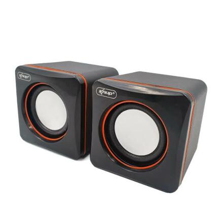 Mini Caixa de Som para Notebook e Computador 3w Knup - KP-600