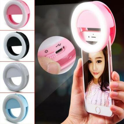 Mini Ring Light de Selfie Portátil para Celular - RG-901