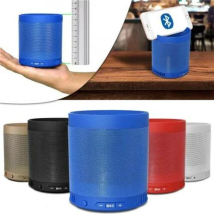 Mini Caixa de Som Bluetooth Usb/SD/Aux/FM Portátil - Q3