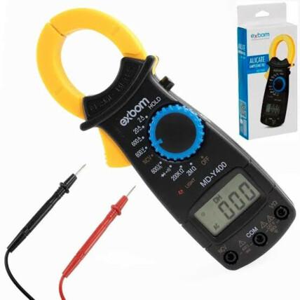 Alicate Amperímetro Digital Profissional EXBOM - MD-Y400
