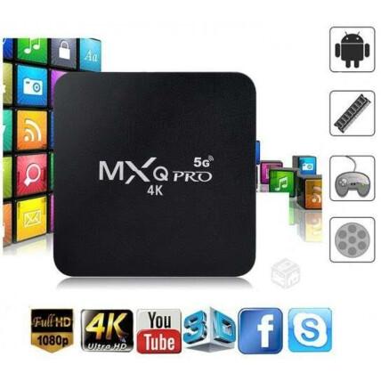 Smart Tv Box 4k Android Ultra Hd 32GB 5G Wi-Fi Quad Core - MXQ PRO 4k