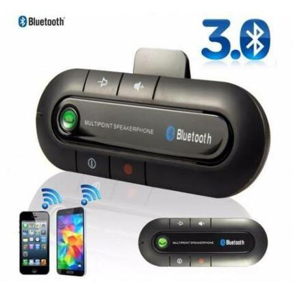 Viva Voz Veicular para Smartphone Bluetooth 4.1 Exbom - 02774/2491