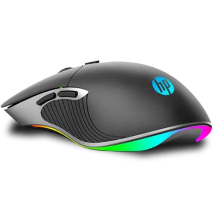Mouse Gamer Usb com Iluminação Led RGB 2400dpi - HP M280 Preto