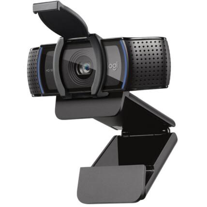 Webcam Logitech Pro Full HD 1080p Áudio Estéreo com Microfone - C920S