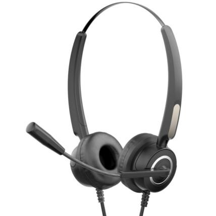Fone Headset com Microfone HP Usb Preto - DHE-8000
